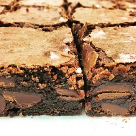 Sugar Daddy brownie Sugar Sisters chocolate brownie